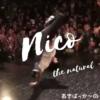 Nico the Natural(ニコ)(あきばっか〜の踊り手)は勇者の剣。振り落とす一撃で勝利